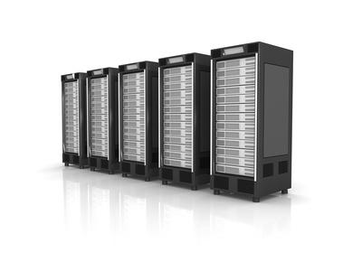 5 Server in Reihe